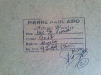 PIERRE PAUL AIRD (1938-    )