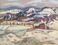 Henri Masson,  R.C.A. - Near Lucerne, Quebec, 1978