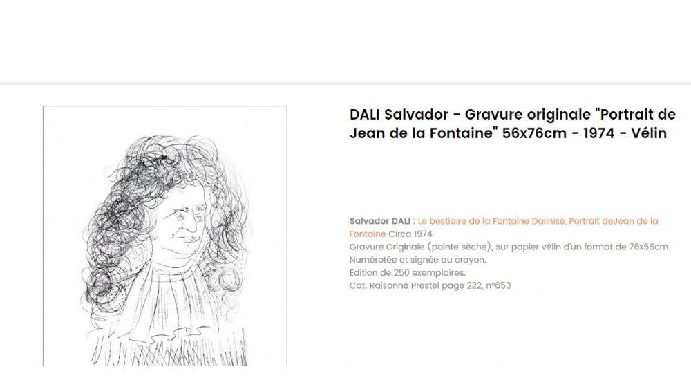 b7d7c446c86 Oeuvre d art de Dali Salvador à vendre