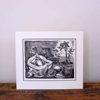Paul-Vanier Beaulieu - Nature morte (fleurs, mortier)