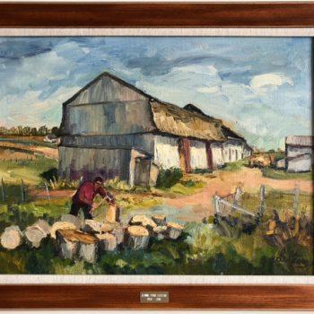 JEANNE- D'ARC  LECLERC  (1920-2016 )