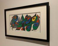 Litho Joan Miro avec encadrement