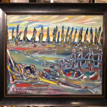 Alban Bluteau - 2 tableaux